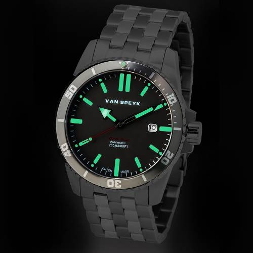 Van Speyk Grey Dutch Diver Watch