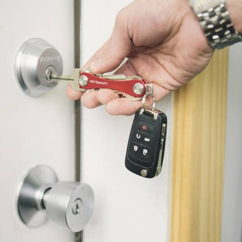 Keysmart Standard | Red | Aluminum Ultra Lightweight Key