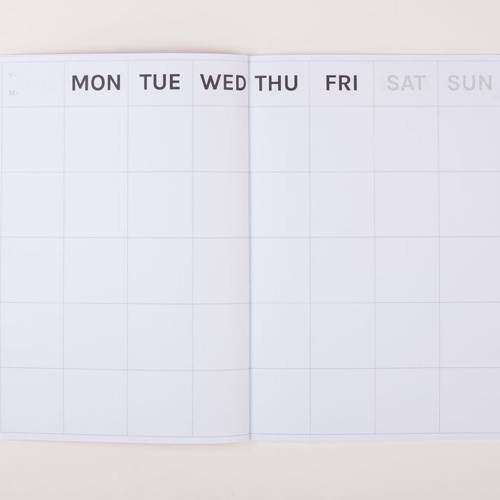 Big Timeless Monthly Planner | Octagon Design