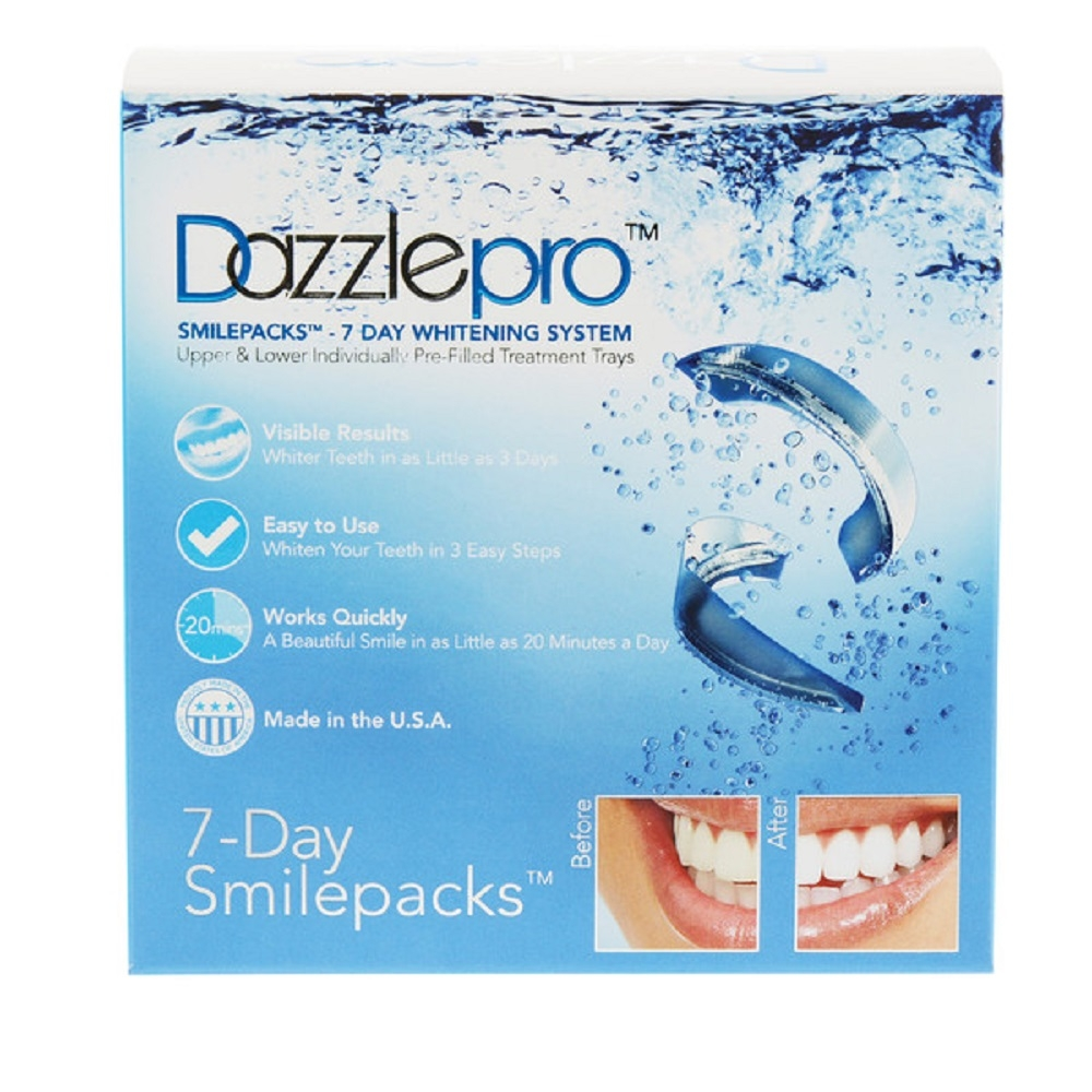 7 Day Smilepacks | Dazzlepro