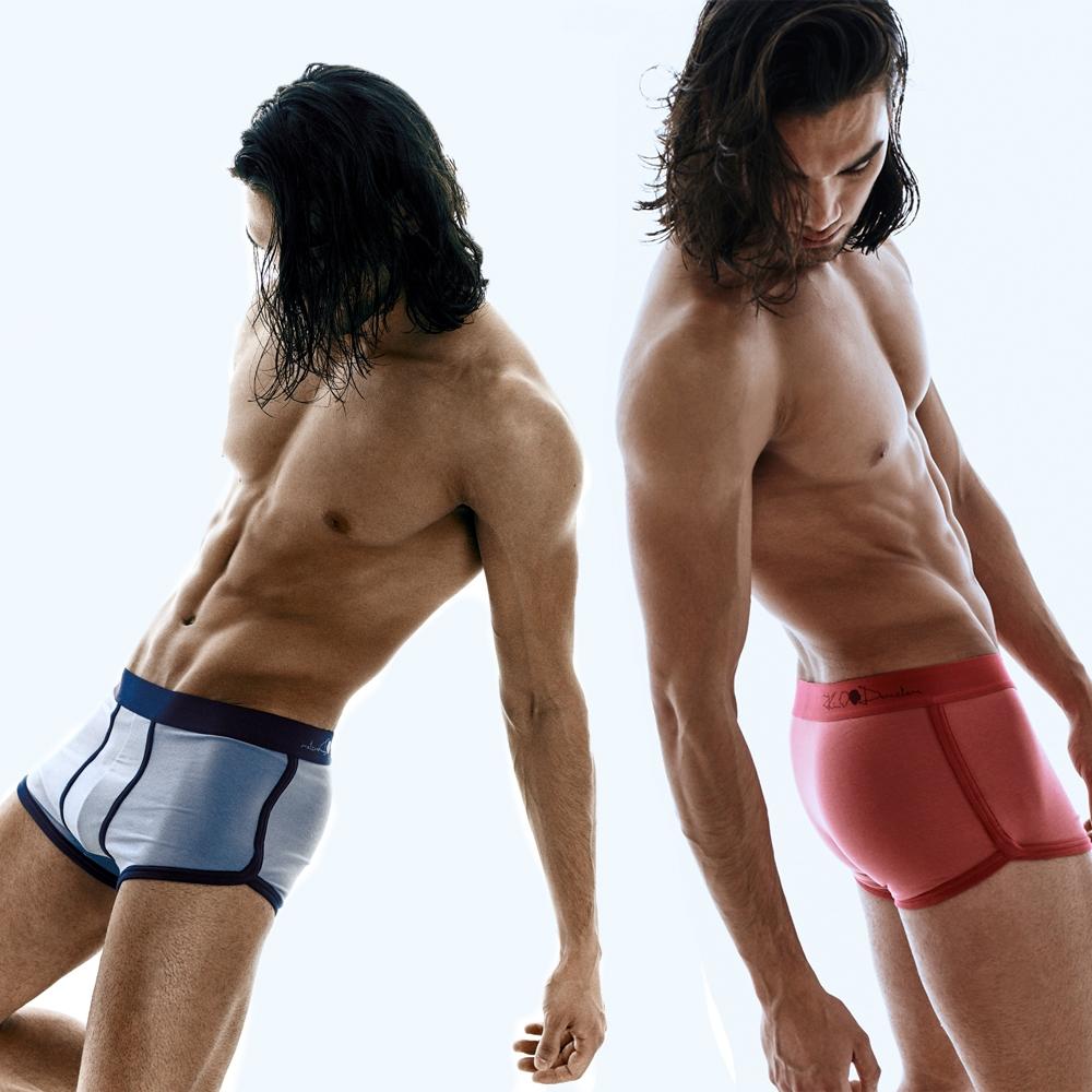 Kim Denzler 2-pack Boxer Briefs | Blue + Red