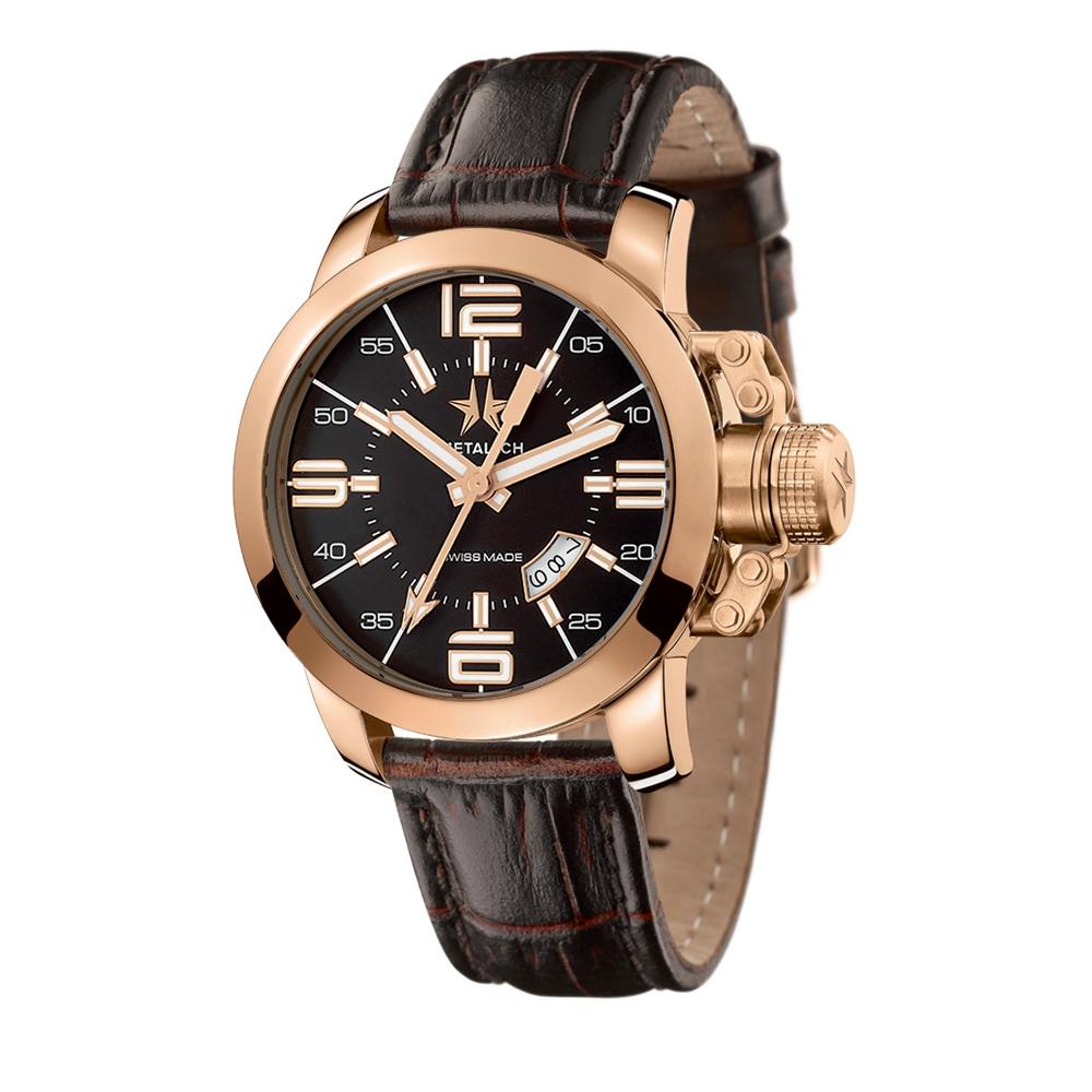 Metal CH Watch   Initial 1340