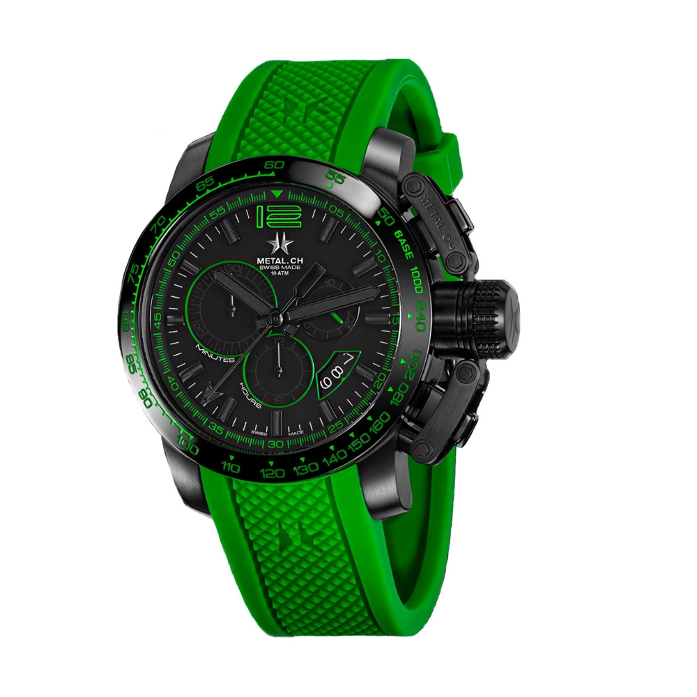 Metal CH Watch | Chronosport 4489