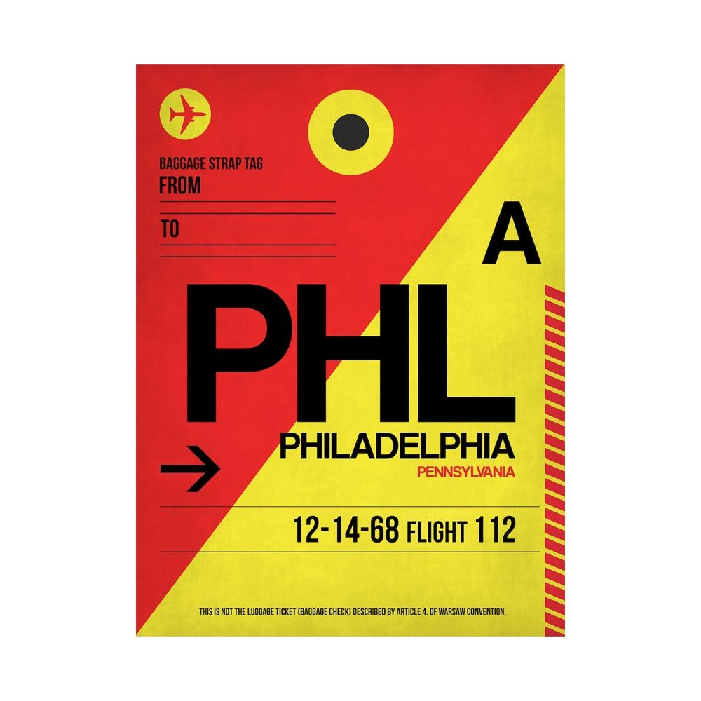 NaxArt | PHL Philadelphia Poster