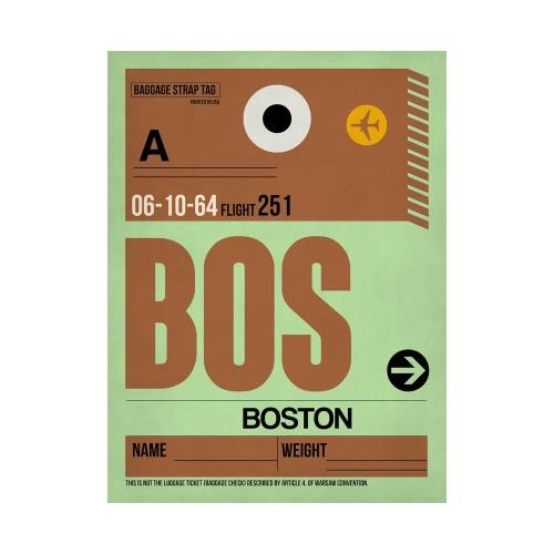 NaxArt | BOS Boston Poster