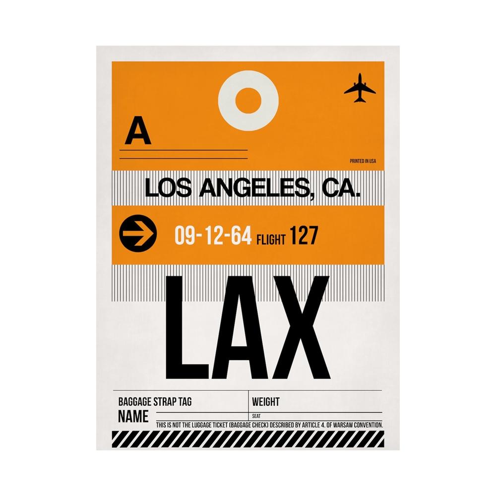 NaxArt   LAX Los Angeles Poster