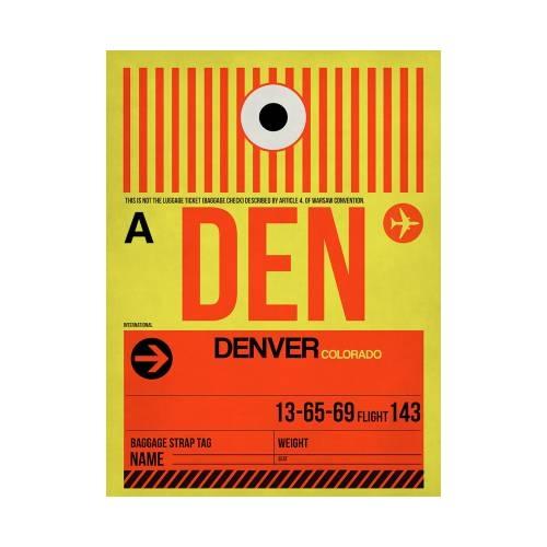 NaxArt | DEN Denver Poster