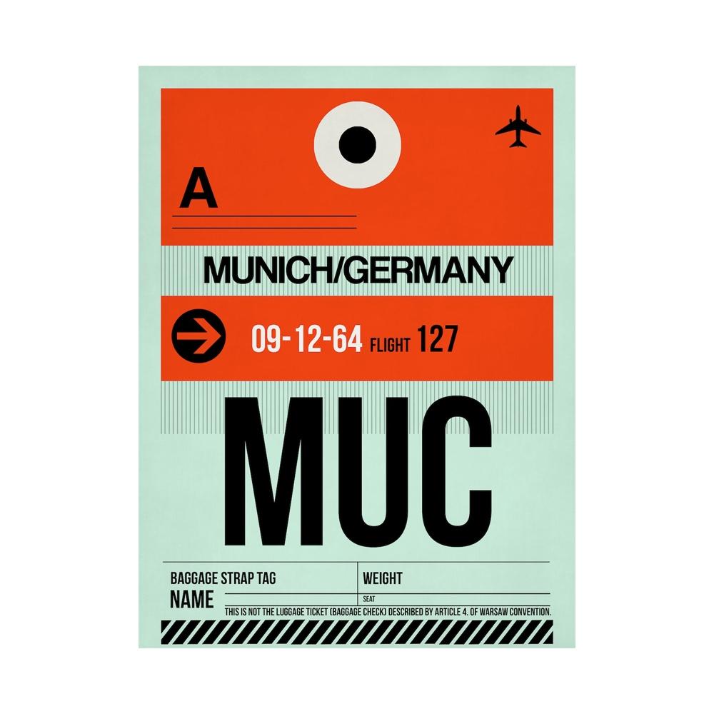 NaxArt | MUC Munich Poster