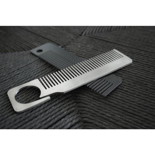 Stainless Steel EDC Comb   Bastion