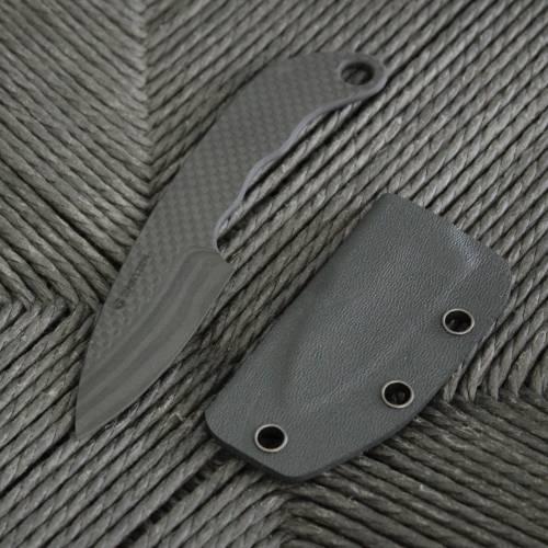 Cabon Fiber KNIFE | CURVED HANDLE