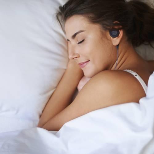 Black Sleep Headphones   Bedphones