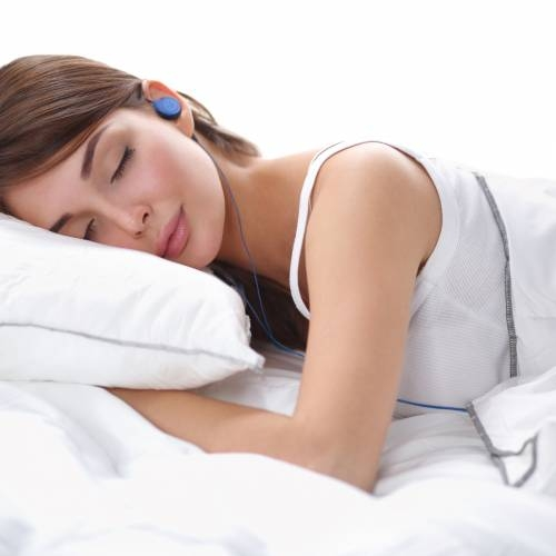 Blue Sleep Headphones | Bedphones