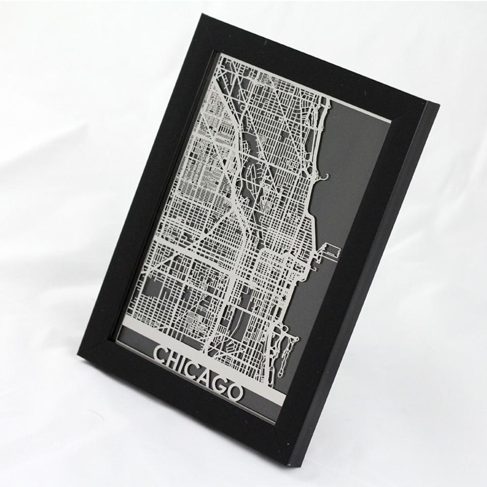Chicago | Cut Maps