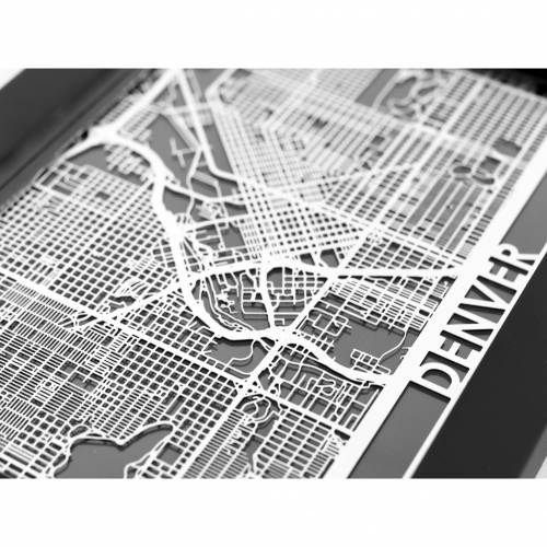 Denver   Cut Maps