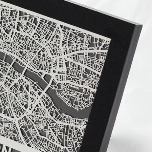 London   Cut Maps
