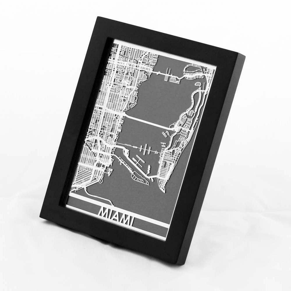 Miami | Cut Maps