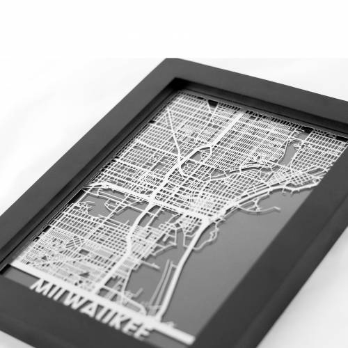 Milwaukee | Cut Maps