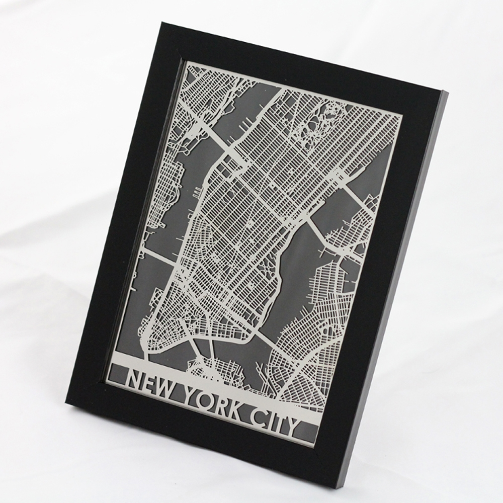 New York City | Cut Maps