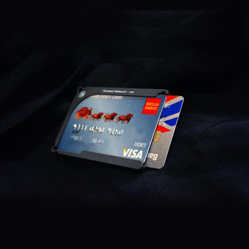 DM1: 4-Card Aluminum Wallet | Decadent Minimalist