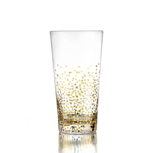 Gold Luster Highball | Set of 4