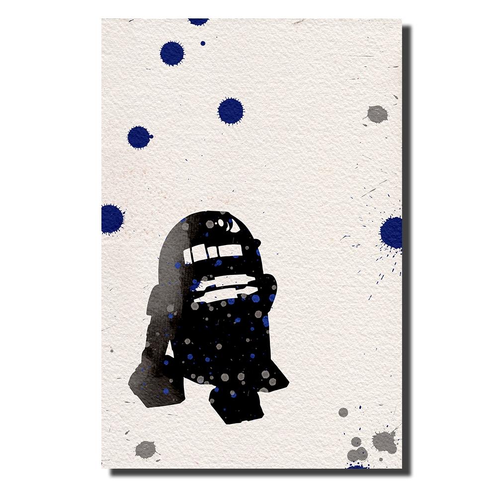 R2D2 Watercolor | Power Cosmic