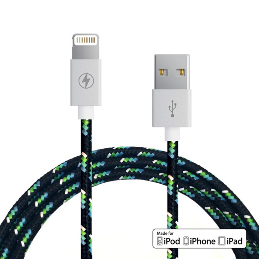 Lightning Cable Black Ice | Charge Cords