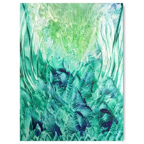 Forever Green Canvas Print | Vivienne East