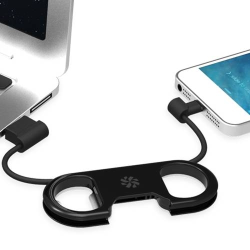 GoBuddy+ Charge & Sync Cable w/ Lightning Connector | Kanex