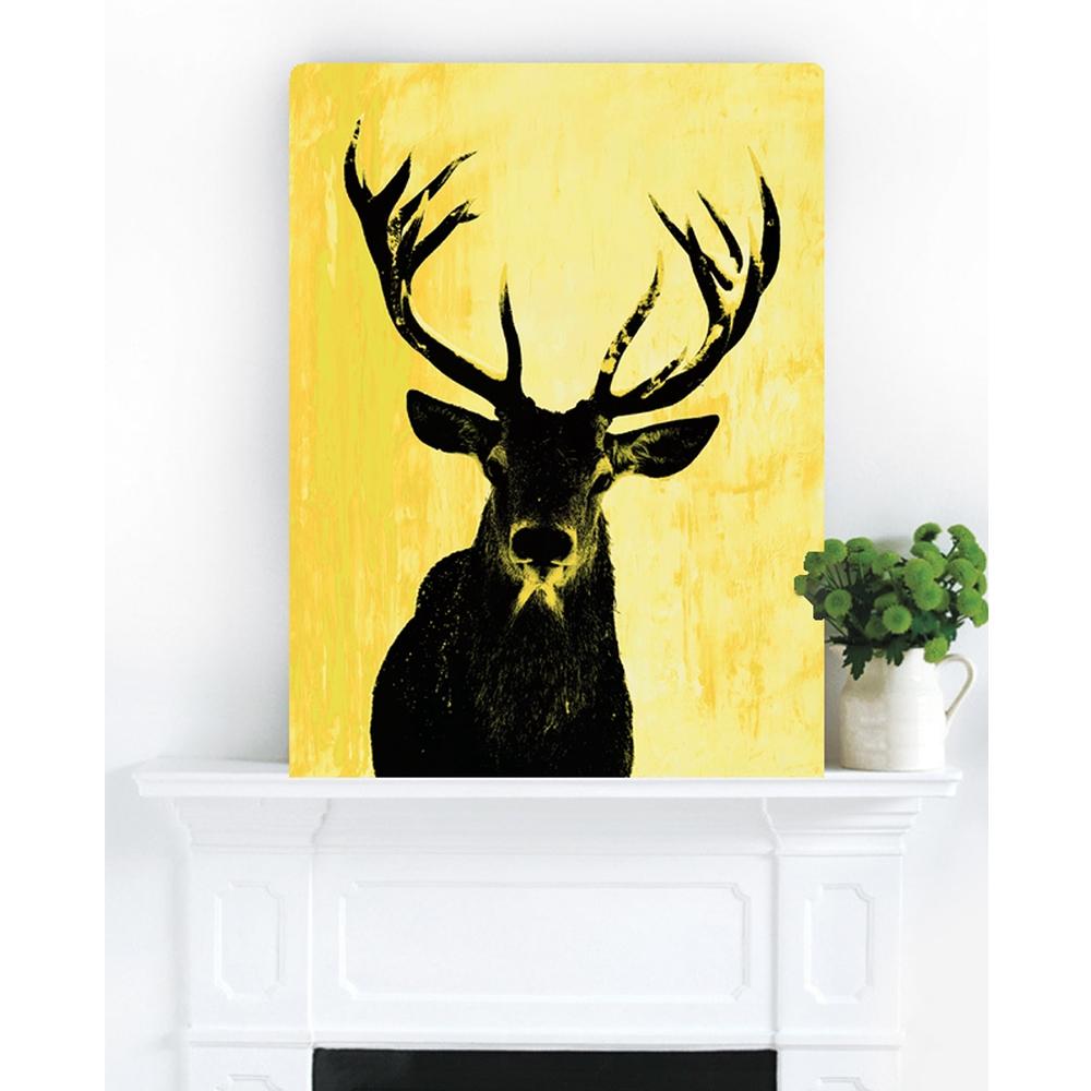 Deer Oh Me Yellows | Hoxton Art House