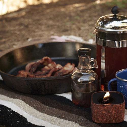 Cowboy Breakfast - Coffee, bacon & maple syrup