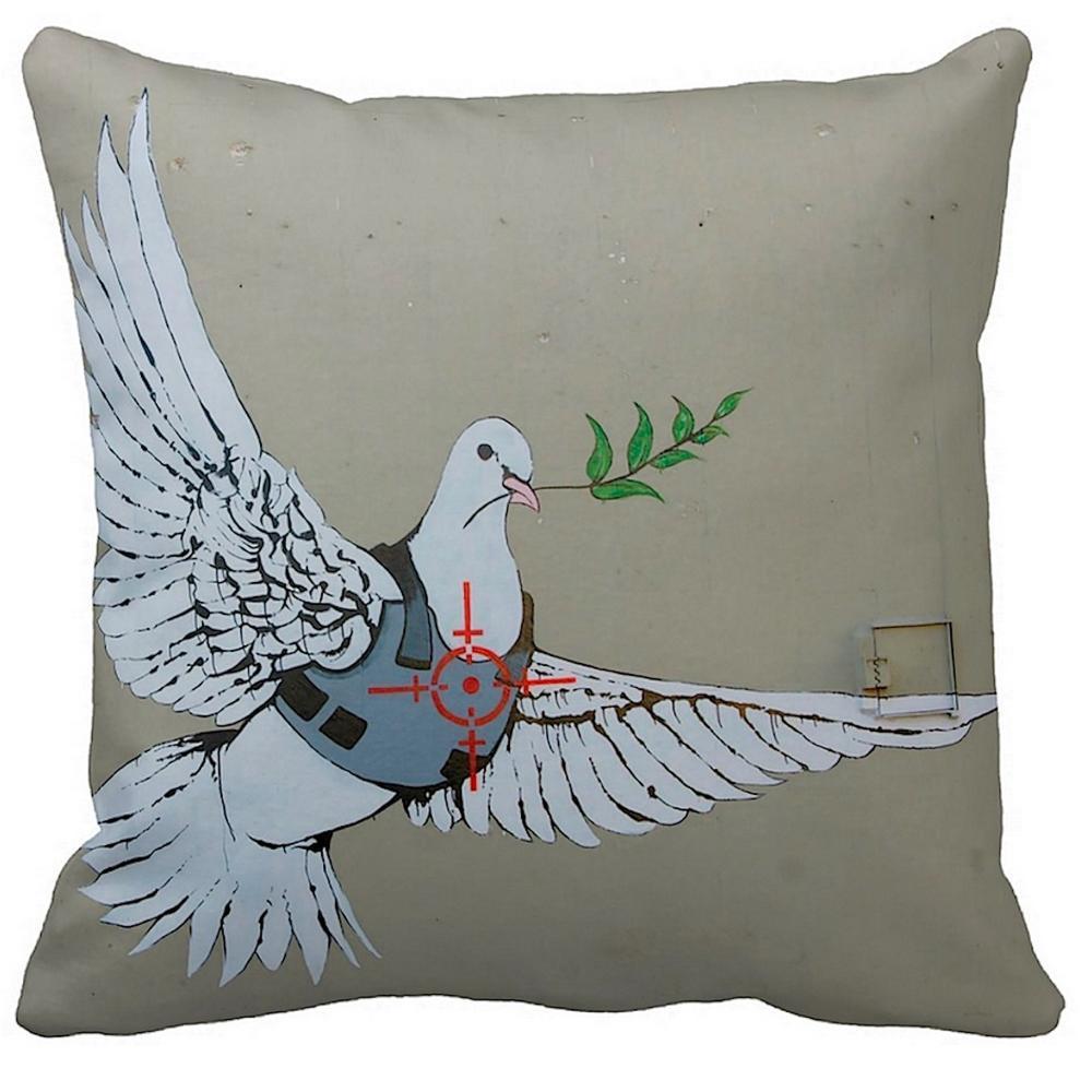 Dove Of Peace   Banksy Art   iLeesh