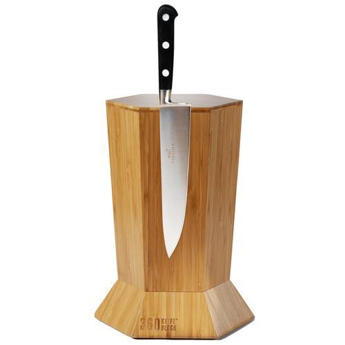 Magnetic Knife Block | Honey Bamboo