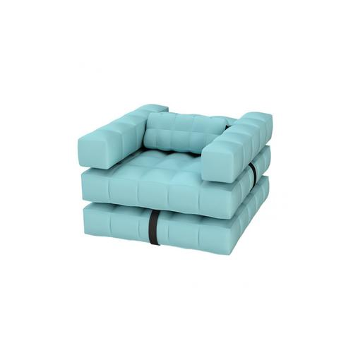 Armchair Set | Aqua Blue