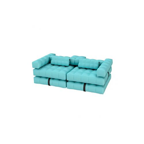 Sofa / Double Lounger Set | Aqua Blue | Pigro Felice