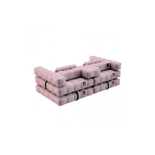 Sofa / Double Lounger Set | Rose Pink | Pigro Felice