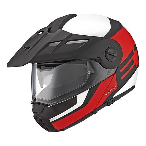 E1 | Guardian Red | Schuberth Helmets