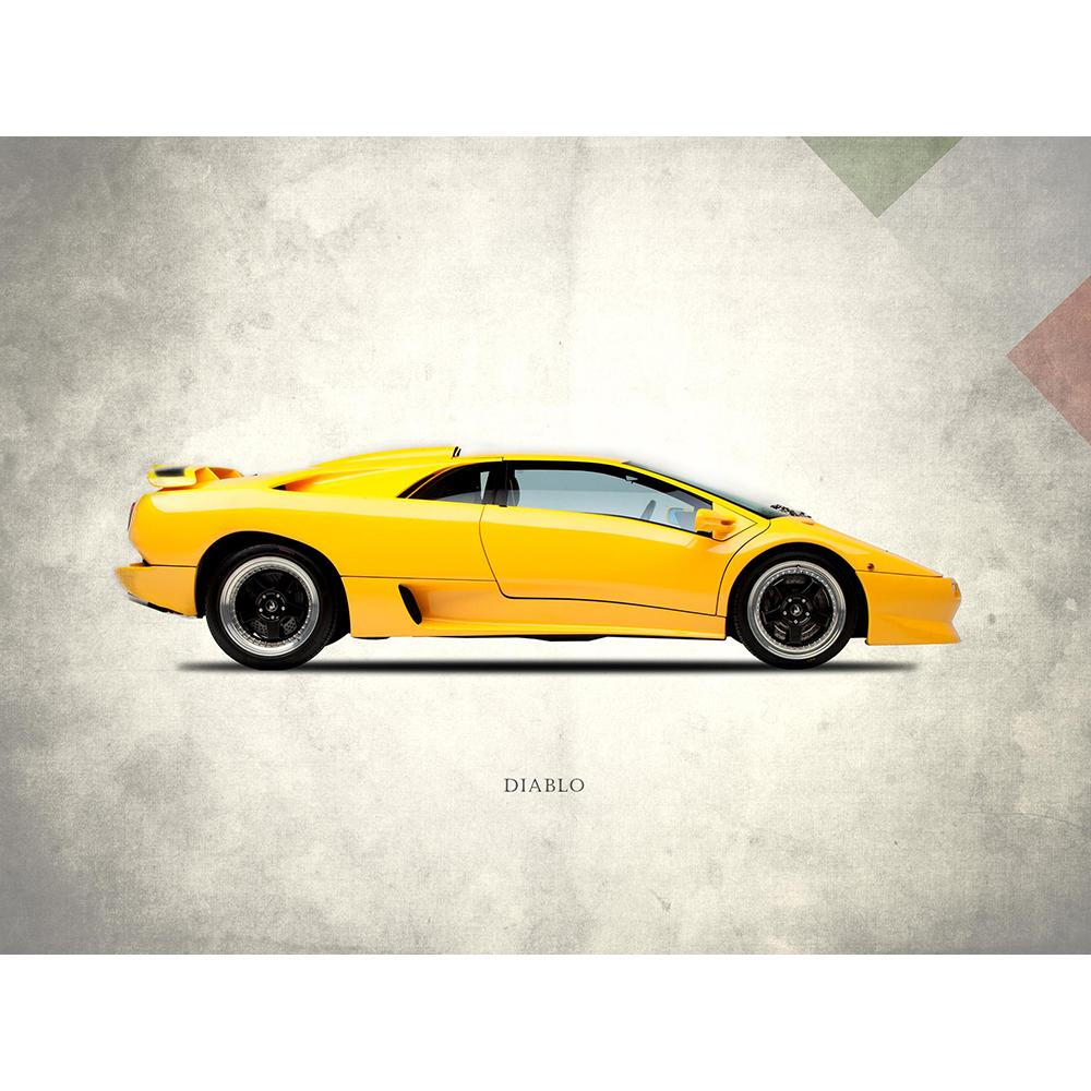 Lamborghini Diablo 1988 | Canvas Prints | Top Art