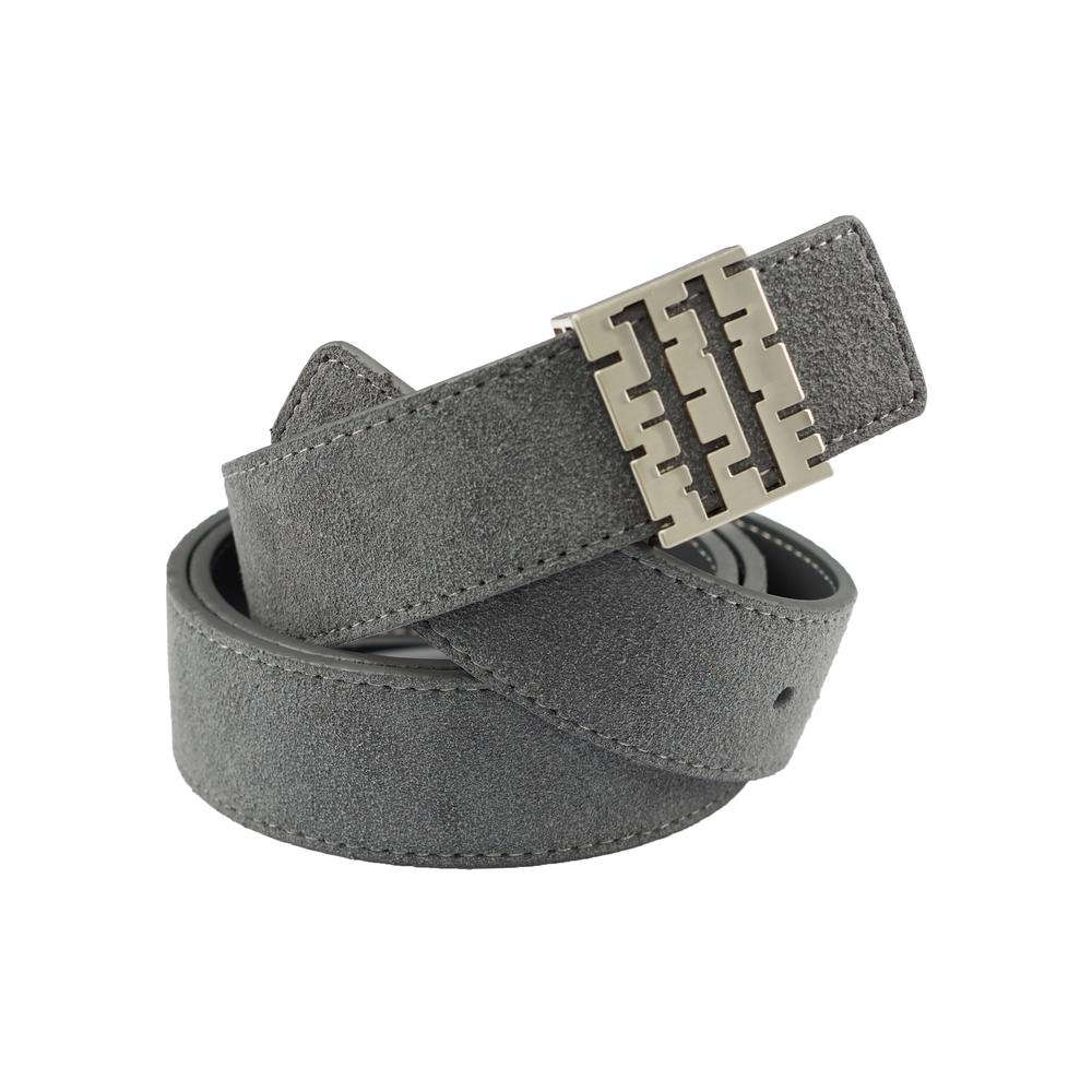 Breza Suede Belt | Gray | Accessories