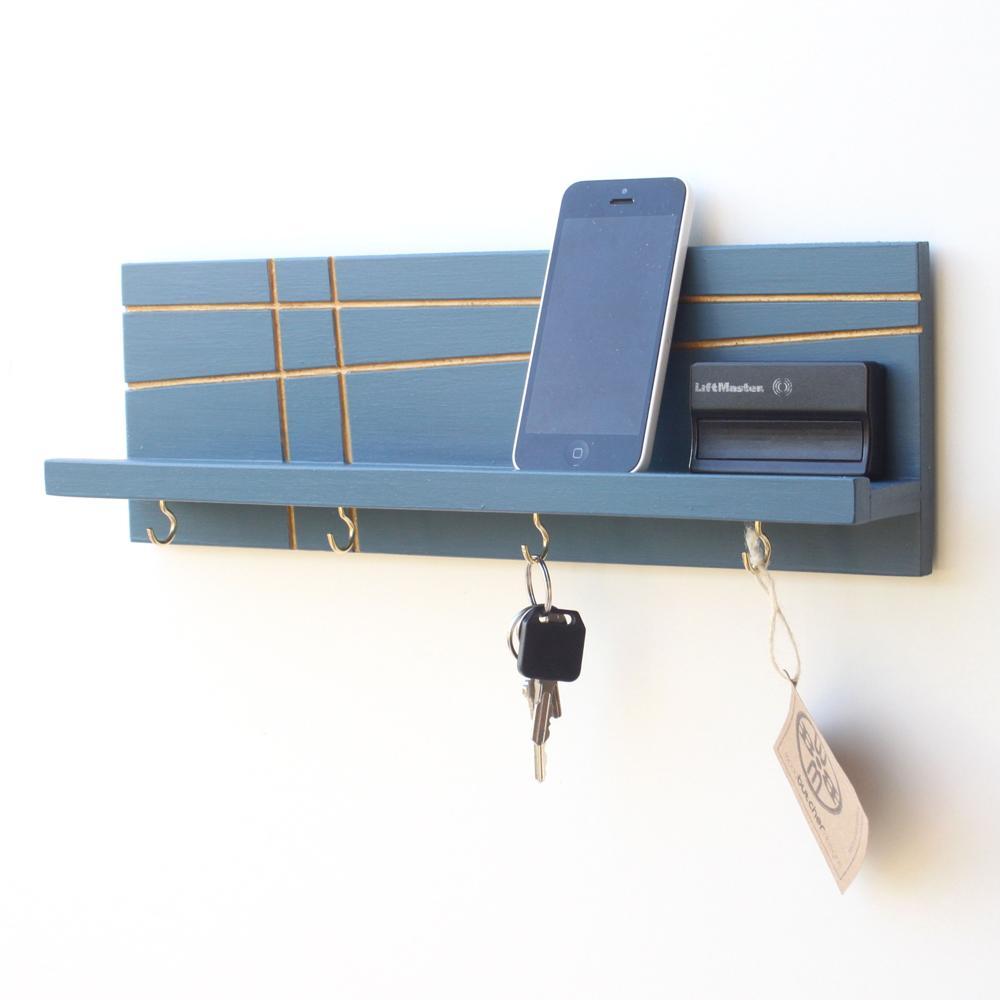 Key / Jewelry Organizer | Modern | Wood Butcher Designs