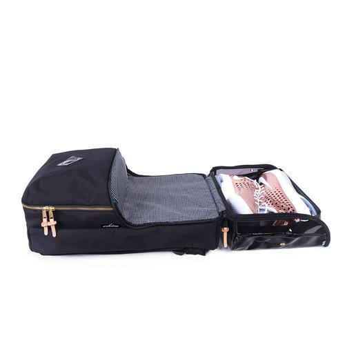 Shrine Sneaker Daypack | Smoked Translucent | The Shrine