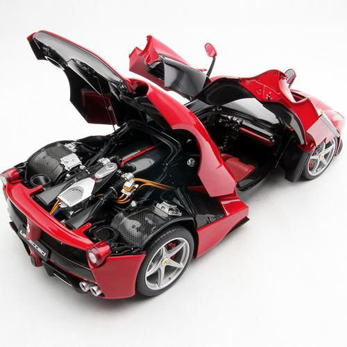 La Ferrari Ferrari Laferrari Color Red Light Cars Car Mil: 1:8 Scale Model Car