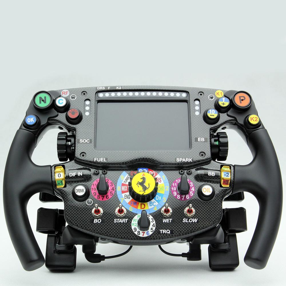 Ferrari Sf15 T Amalgam 1 1 Scale Steering Wheel