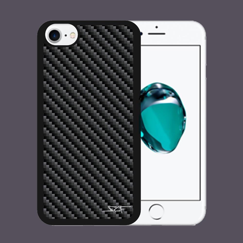 Carbon Fiber iPhone 7 Case   Black   Simply Carbon Fiber