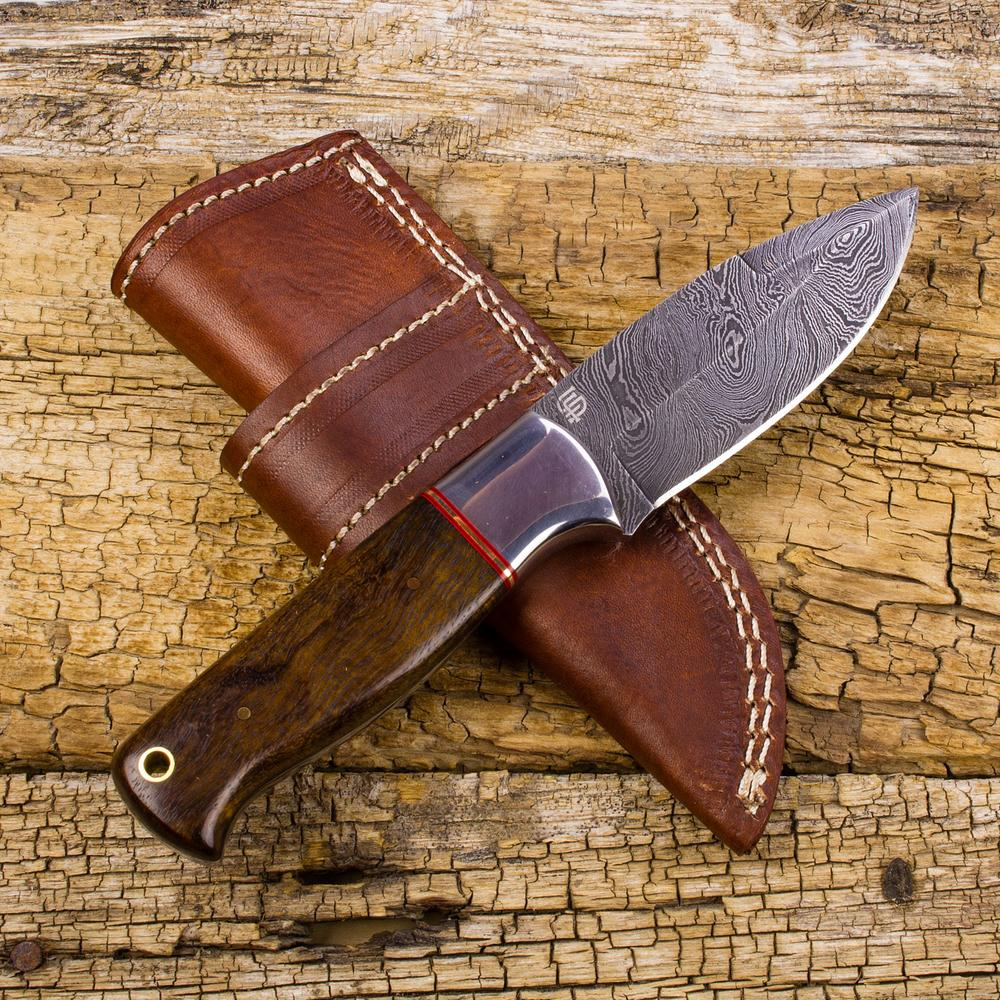 Piccard Damascus Steel Knife   Forseti Knives