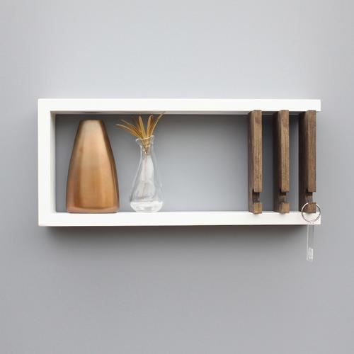 Entryway Key Rack & Shelf