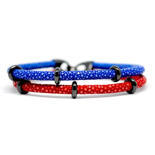 Bracelet | 2x Sting | Red/Blue/Black
