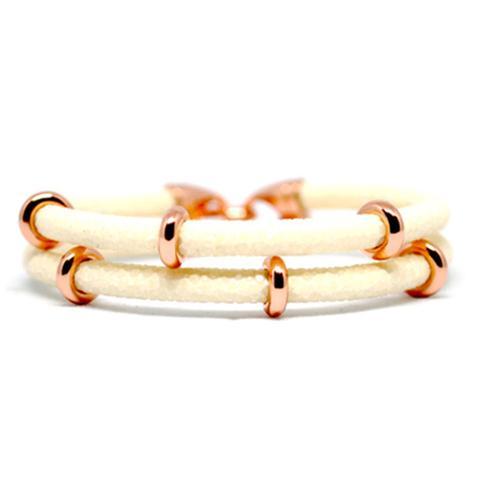 Bracelet   2x Sting   White/Rose Gold