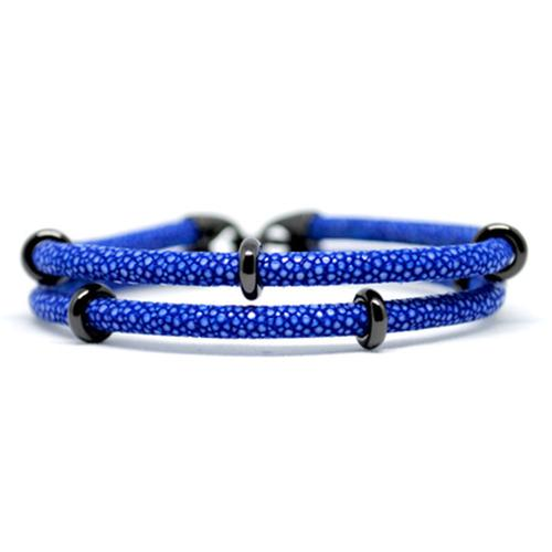 Bracelet | 2x Sting | Blue/Black