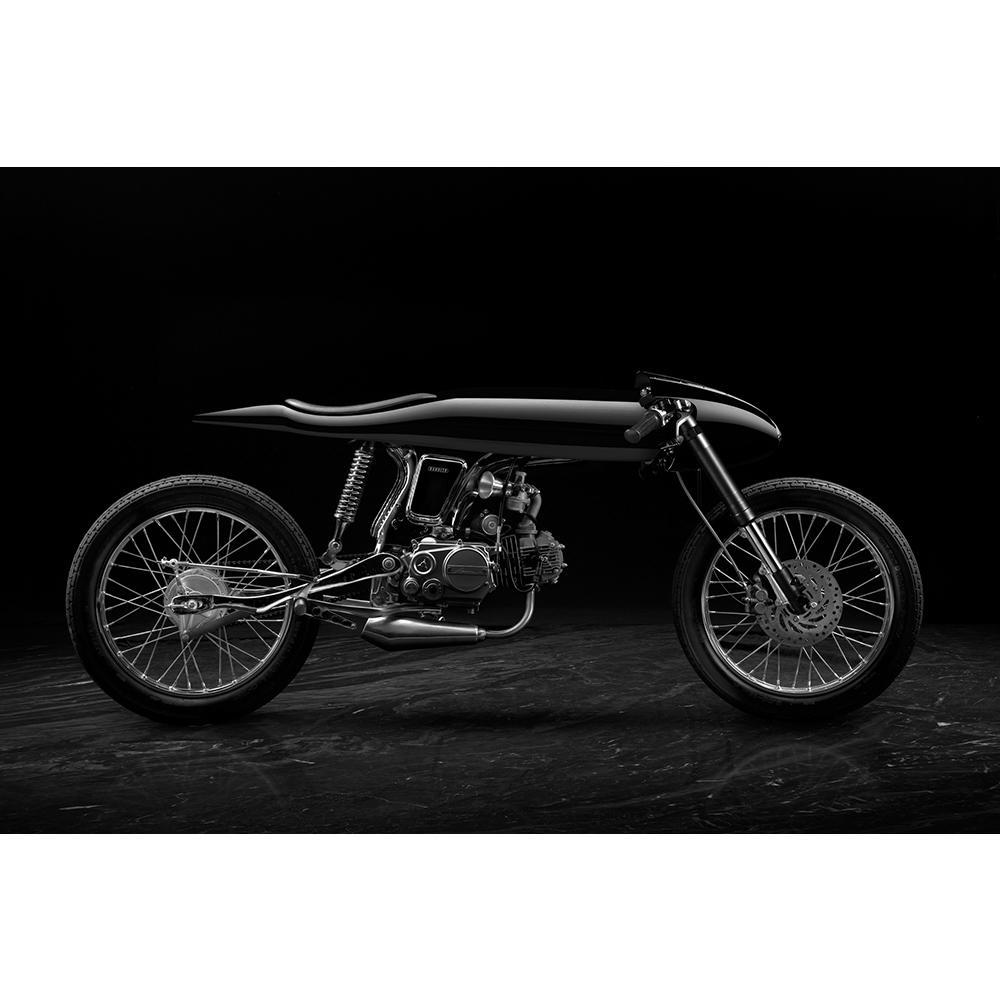 Eve Liquid Black   Honda Supersport 125cc   Bandit9 Bikes