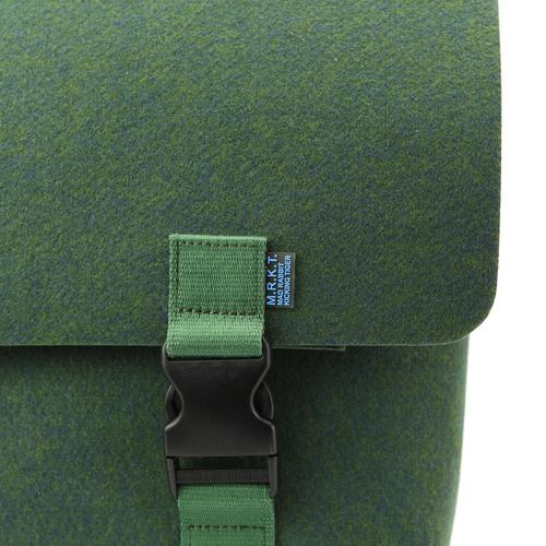 Kel Felt Briefcase | Converts to Messenger Bag | MRKT Bags